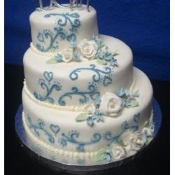 Свадебный торт Небесные ласточки: заказать, доставка
