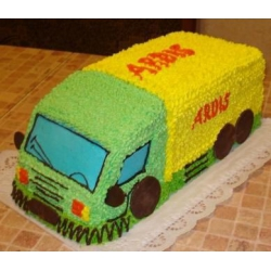 Детский торт Фура веселая