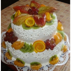 Торт на заказ Верона летняя