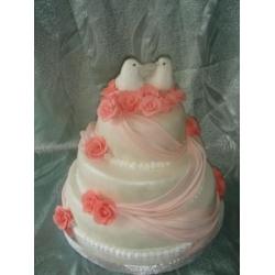 Свадебный торт Рикель: заказать, доставка