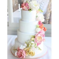 Свадебный торт Пион Мари: заказать, доставка
