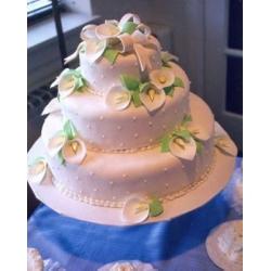 Свадебный торт Калла: заказать, доставка
