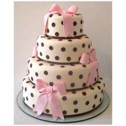 Свадебный торт Горох