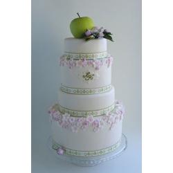 Свадебный торт Райское яблоко: заказать, доставка