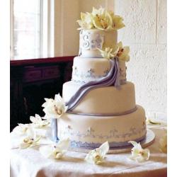 Свадебный торт Лаванда: заказать, доставка