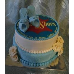 Корпоративный торт Shoes