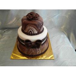 Свадебный торт Мраморный: заказать, доставка
