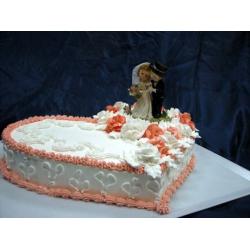 Свадебный торт Ты и Я: заказать, доставка