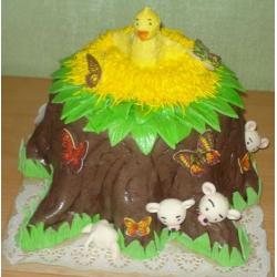 Детский торт Пенек