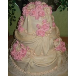 Свадебный торт Нежность