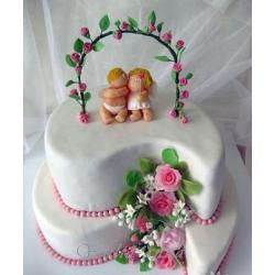 Свадебный торт Ангелы: заказать, доставка