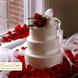 Свадебный торт Букетик Чувств: заказать, доставка