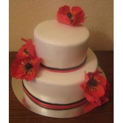 Свадебный торт Маки: заказать, доставка