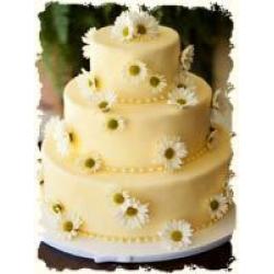 Свадебный торт Ромашка: заказать, доставка
