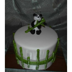 Торт на заказ Мишка панда