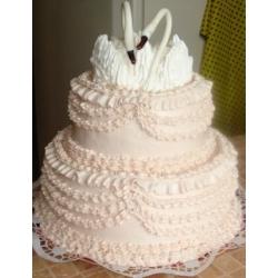 Свадебный торт Простая красота: заказать, доставка