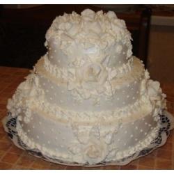 Свадебный торт Брависсимо!: заказать, доставка