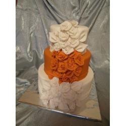 Свадебный торт Сад цветов: заказать, доставка