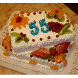 Торт на заказ Юбилей - 55