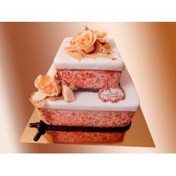 Торт на Золотую свадьбу 6 кг: заказать, доставка