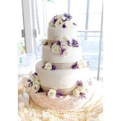 Свадебный торт Полевые цветы: заказать, доставка