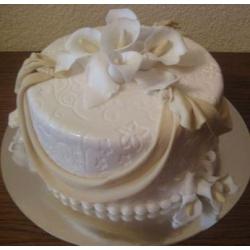 Свадебный торт Белый танец: заказать, доставка