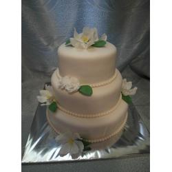Свадебный торт Магнолии: заказать, доставка