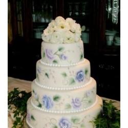 Свадебный торт Синий океан: заказать, доставка