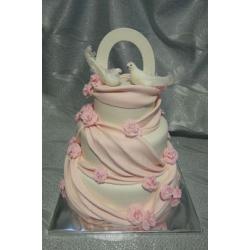 Свадебный торт Карнелия: заказать, доставка