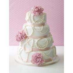Свадебный торт Жемчуг