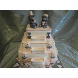 Свадебный торт Путешествия: заказать, доставка