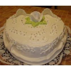 Торт на свадьбу Сердце