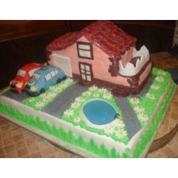 Торт на заказ Дом мечты