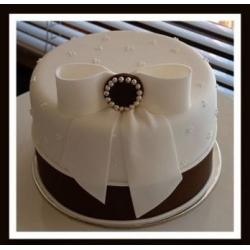 Свадебный торт Брошь: заказать, доставка