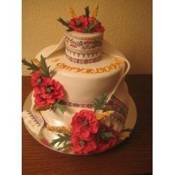 Свадебный торт Национ традиции: заказать, доставка