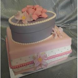 Свадебный торт Нежность для двоих: заказать, доставка