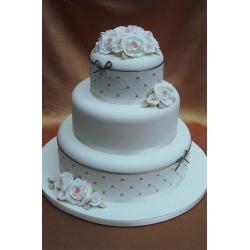 Свадебный торт Же Тем: заказать, доставка