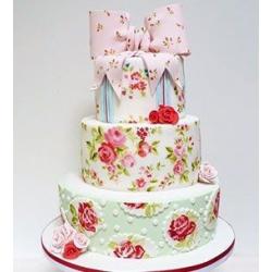 Свадебный торт Шебби Шик: заказать, доставка