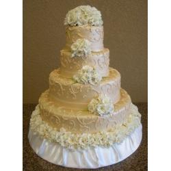 Свадебный торт Золотое шампанское: заказать, доставка