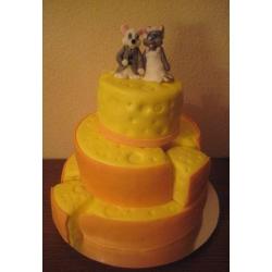 Свадебный торт Сыррр: заказать, доставка