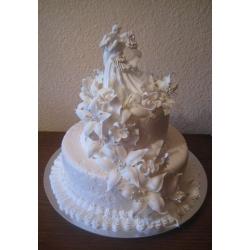 Свадебный торт Белое танго: заказать, доставка