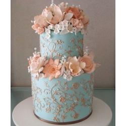 Свадебный торт Прекрасная Тиффани: заказать, доставка