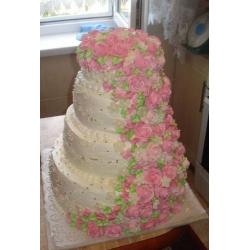 Свадебный торт Повесть о любви: заказать, доставка