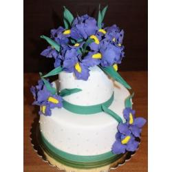 Свадебный торт Ирисы: заказать, доставка