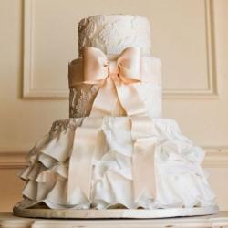Свадебный торт 2013: заказать, доставка