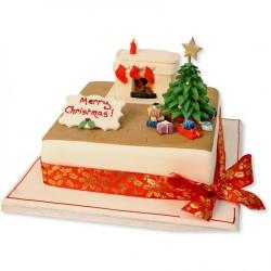 Новогодний торт-8