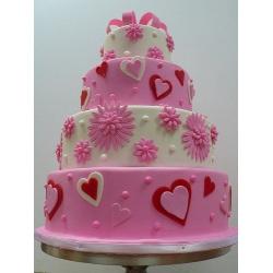 Свадебный торт Валентин: заказать, доставка