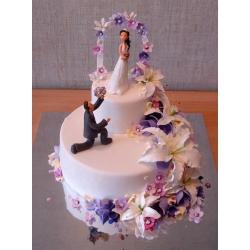 Свадебный торт Крит: заказать, доставка