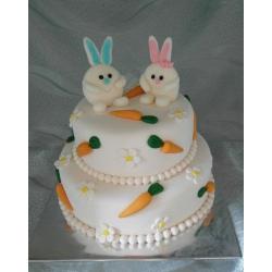 Свадебный торт Зайки: заказать, доставка