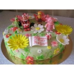 Детский торт Лунтик с друзьями